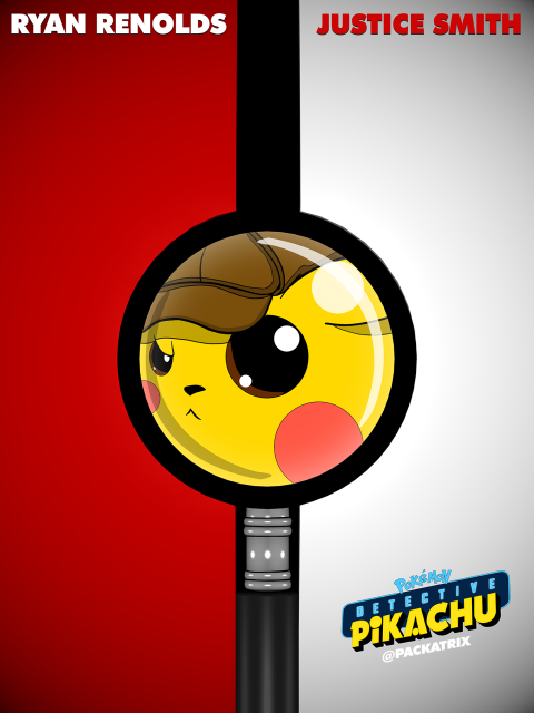 Detective Pikachu – Pokéball Close Up