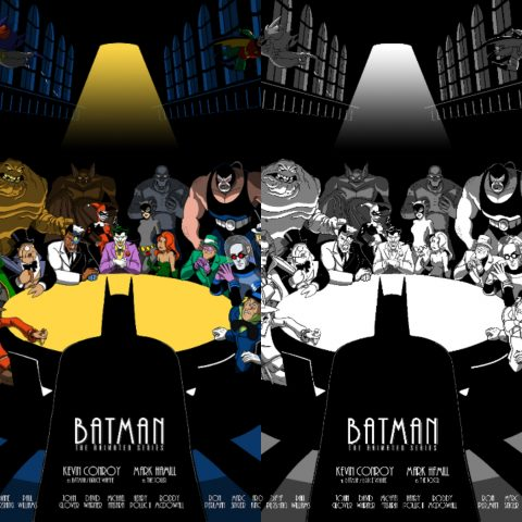 "Batman: The Animated Series ""The AA Meeting"""