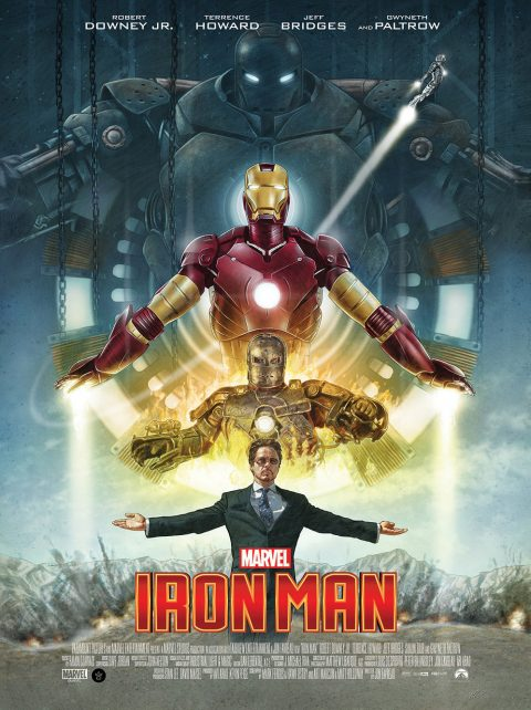 Iron Man 10th Anniversary alternative movie poster