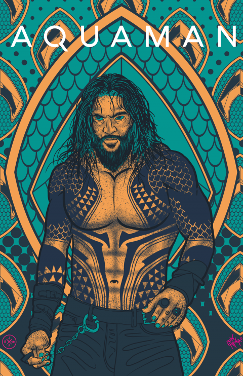 AQUAMAN ALTERNATIVE POSTER SUBMISSION FOR TALENTHOUSE CREATIVE BRIEF