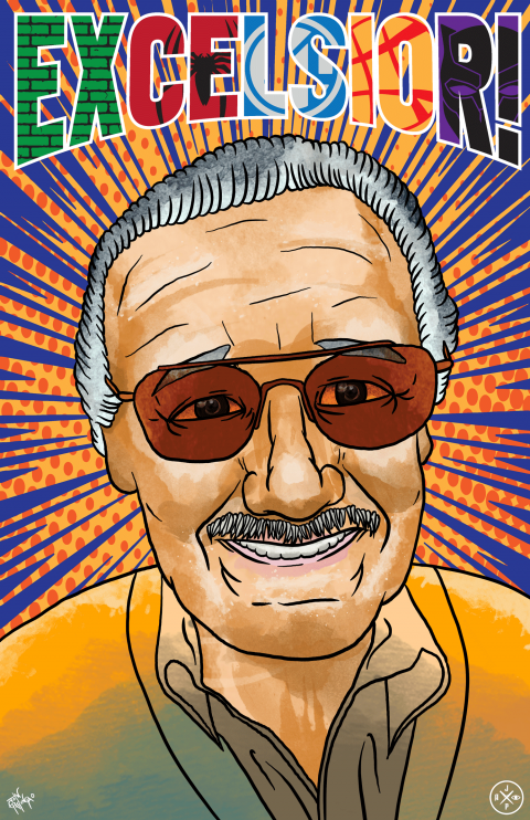 "STAN LEE ""EXCELSIOR!"" TRIBUTE PIECE"