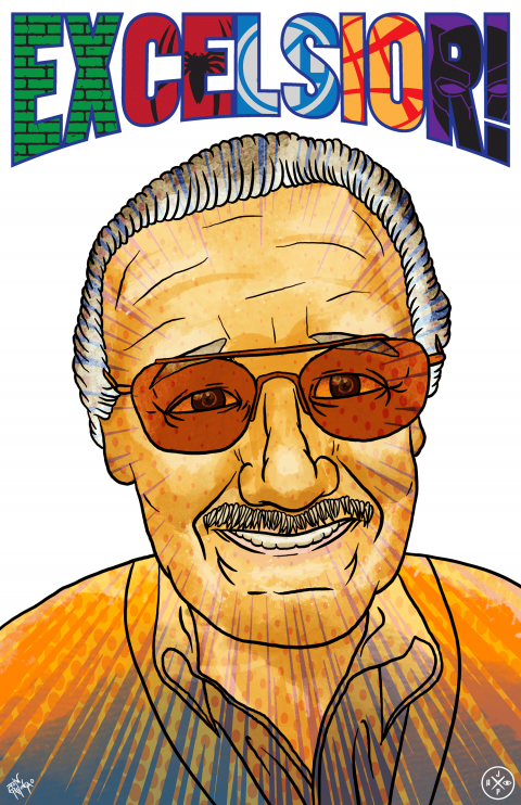 "STAN LEE ""EXCELSIOR!"" TRIBUTE PIECE – VARIANT"