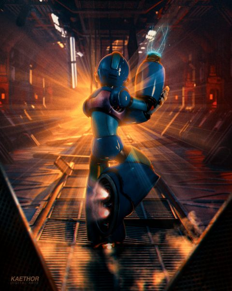 MegaMan – Digital Arts