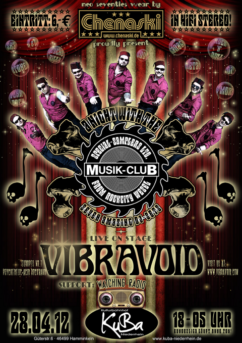 Musik-Club presents VIBRAVOID