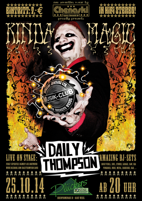Musik-Club presents DAILY THOMPSON