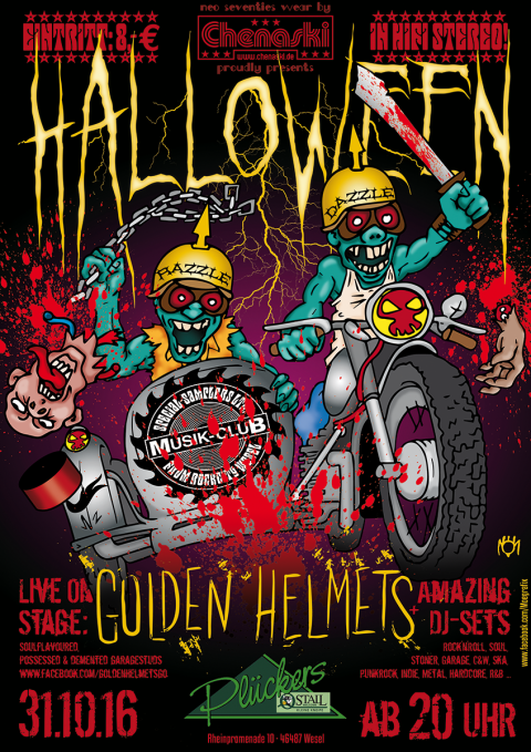 Musik-Club presents GOLDEN HELMETS