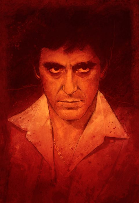 "Al Pacino ""Scarface"""