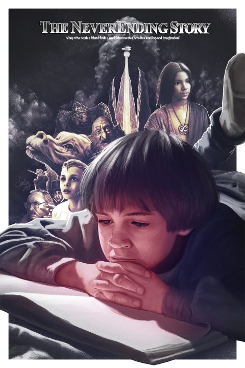 The NeverEnding Story Poster (AMP)