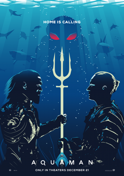 AQUAMAN Poster Art