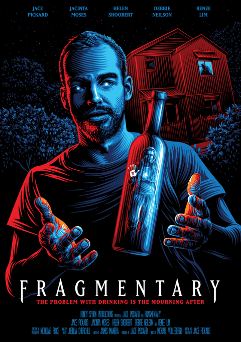 Official movie poster for Fragmentary
