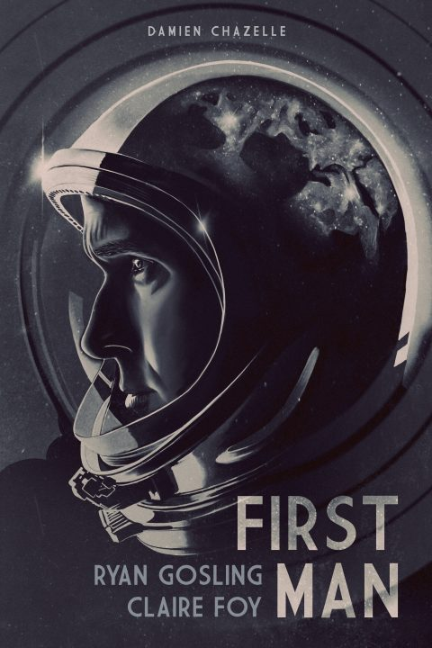First Man alternate movie poster