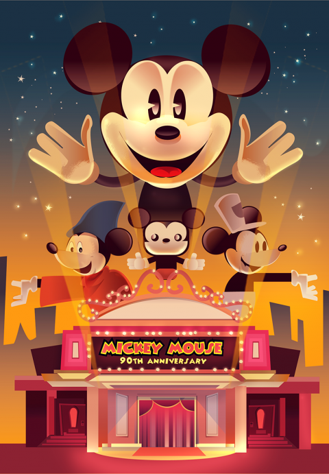 Mickey Mouse 90th Anniversary Tribute