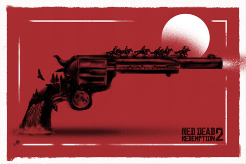 Red Dead Redemption ! (red variant)