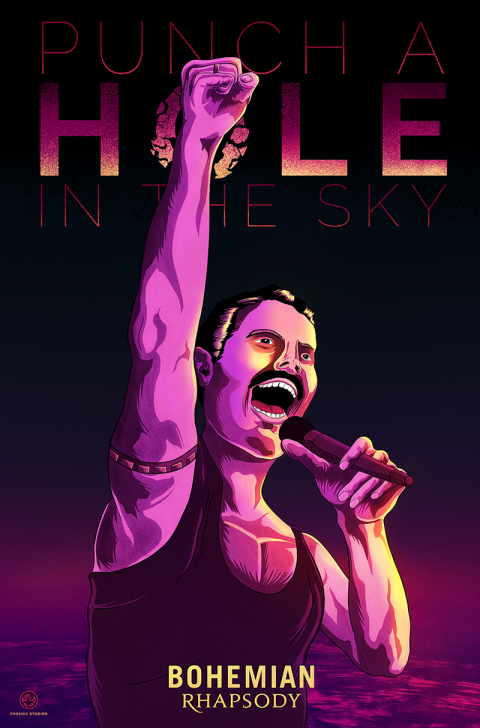 Bohemian Rhapsody – Punch a hole in the sky