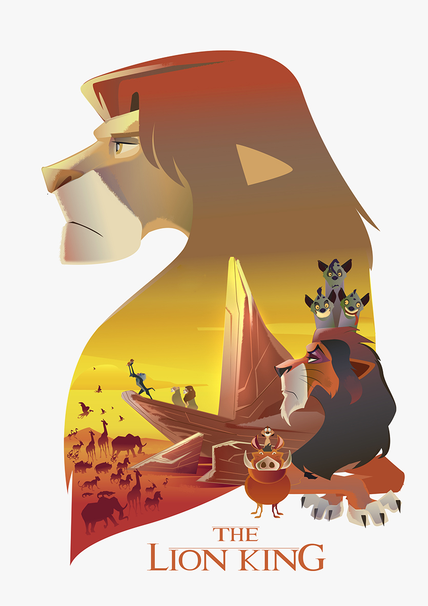 the lion king poster tribute
