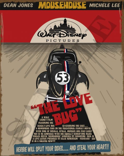 'Grindhouse' The Love Bug movie poster