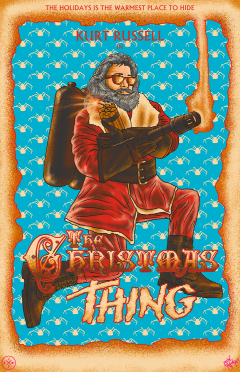 THE CHRISTMAS THING – THE THING 1982 + CHRISTMAS CHRONICLES MASHUP – THE HOLIDAYS IS THE WARMEST PLACE TO HIDE