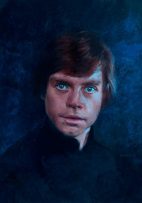 "Mark Hamill ""Luke Skywalker"""