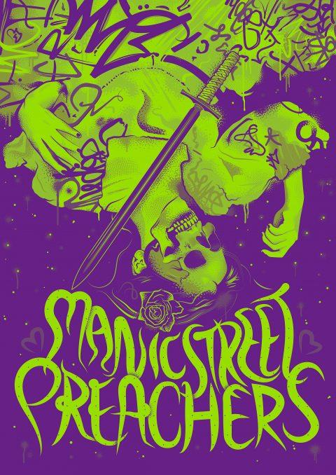 Manic Street Preachers – Tour Poster V1s