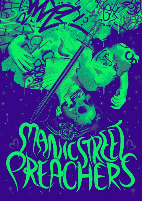 Manic Street Preachers – Tour Poster V2