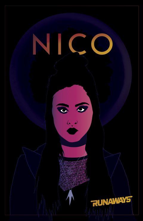 Nico Minoru – Marvels Runaways Character Poster