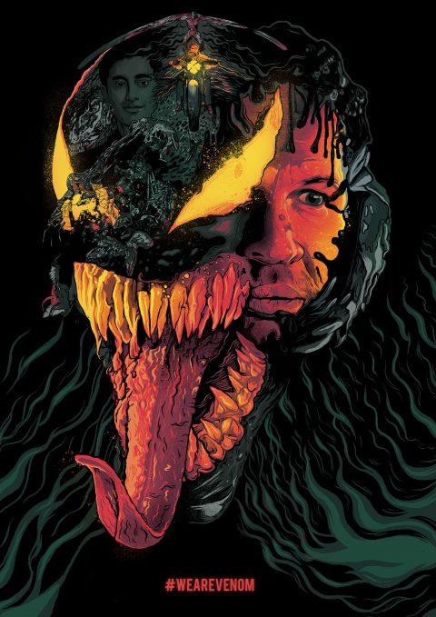 Venom – Alternate Illustrated Poster