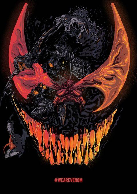 Venom Alternate Illustrated Poster