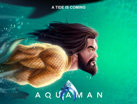 Aquaman Poster design 01