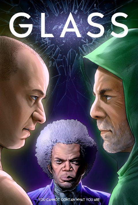 Glass  – Poster design