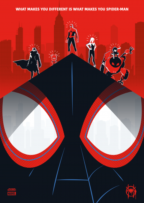 SPIDER-MAN: INTO THE SPIDER-VERSE Poster Art