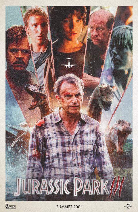 Jurassic Park 3 Movie Poster (2018)