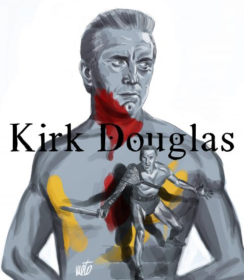 Kirk Douglas in Spartaco