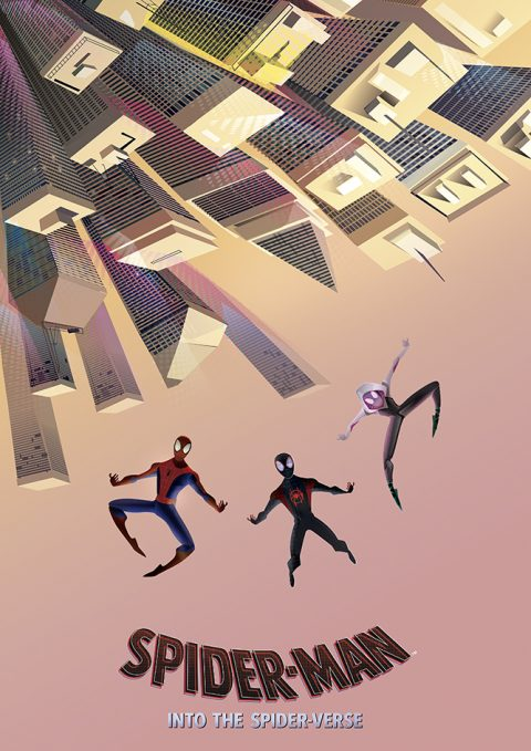 Spiderman Into the spider- verse