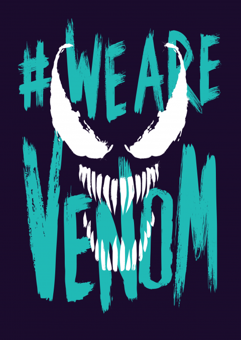 We are Venom – teal