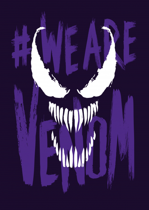 We are Venom – purple