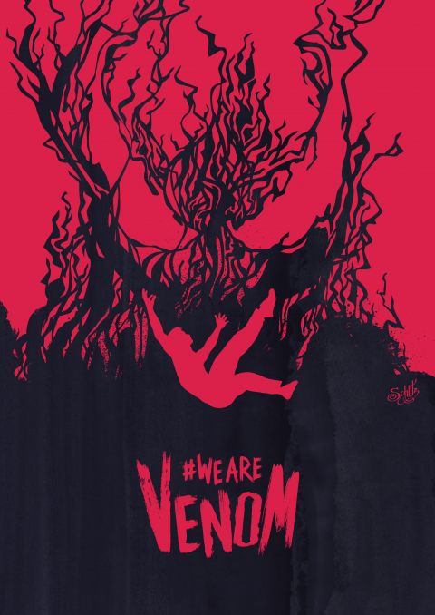 We are Venom web – red