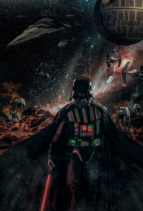"""""""El camino de Vader"""" """"The vader road"""""""