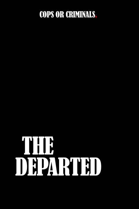 Departed Poster Design