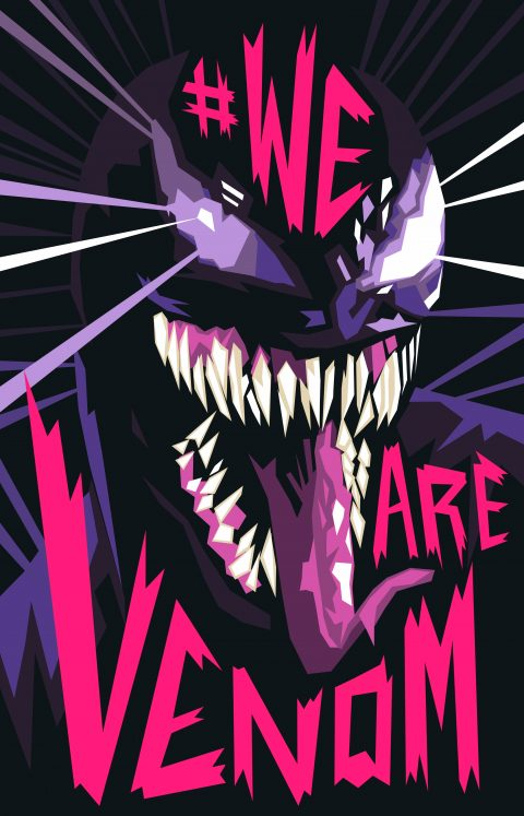 Venom poster alt colour