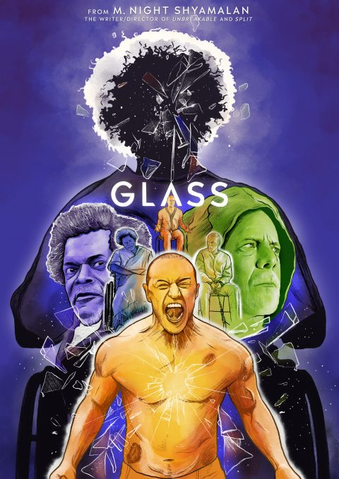 Glass – Alternate Poster