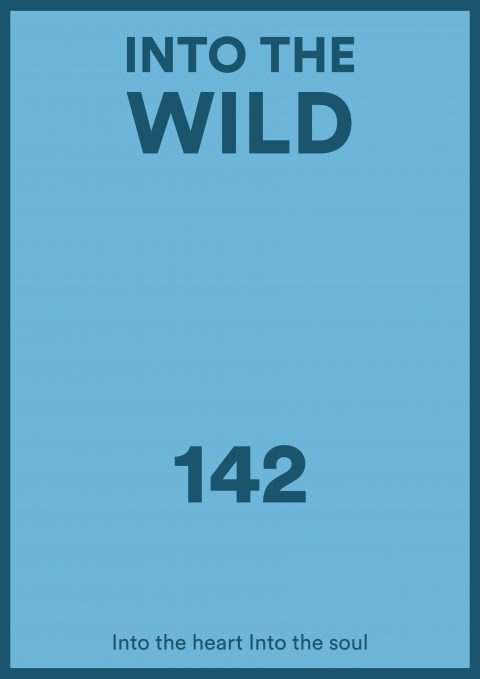 INTO THE WILD Minimal Movie Poster Design