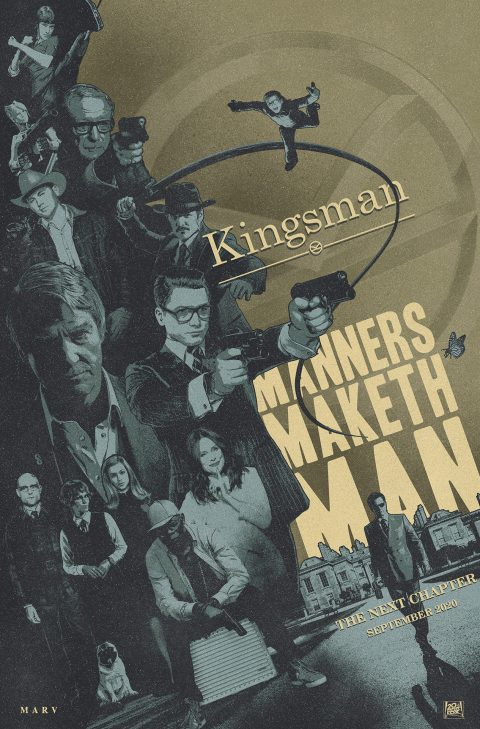 Kingsman Tribute Poster