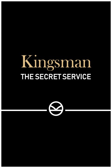 Kingsman: The Secret Service Minimal Movie Poster