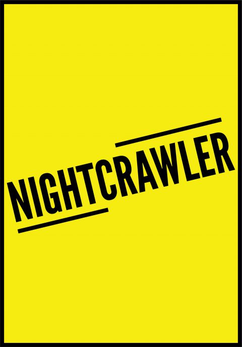 NIGHTCRAWLER Minimal Movie Poster