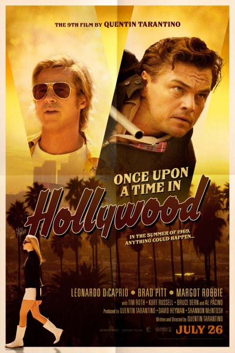 Once Upon a Time in Hollywood (2019) – Poster