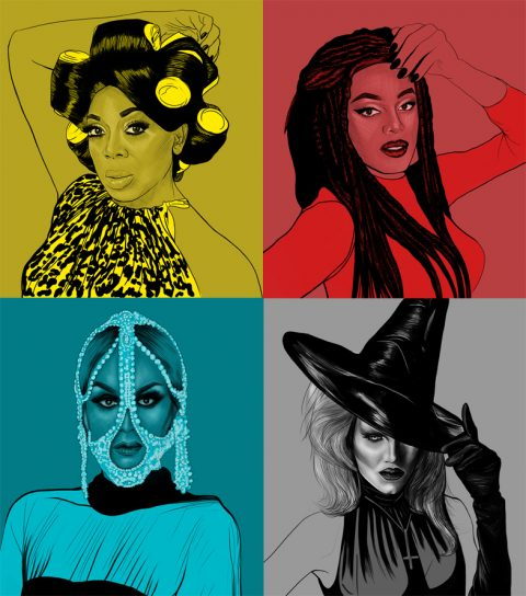 Drag Race Portraits