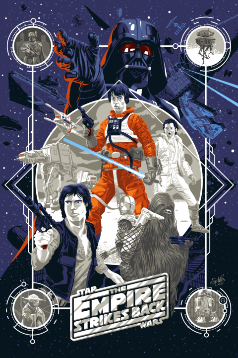 Starwars – The Empire Strikes Back