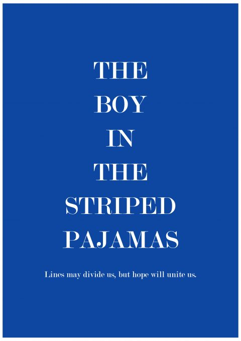 The boy in the Striped Pajamas Minimal Movie Poster