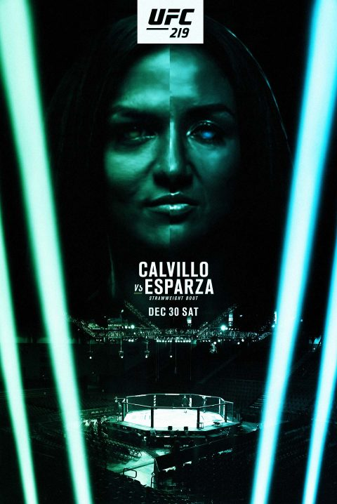UFC 219 – Calvillo Vs. Esparza