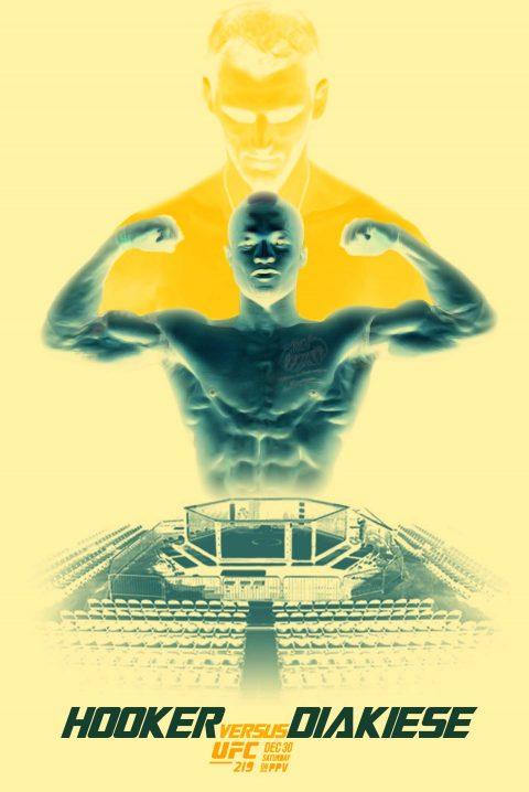 UFC 219 – Hooker Vs. Diakiese